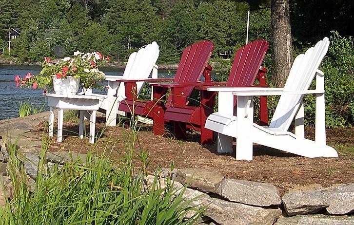 original adirondack chair plan