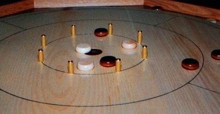 Crokinole Board Game Plan - Downloadable