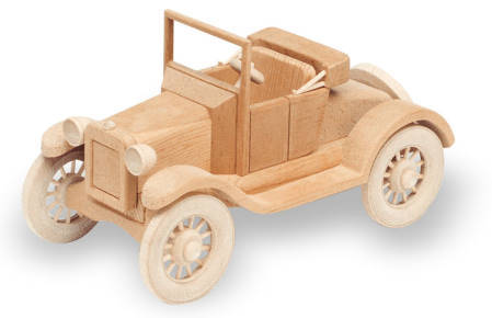 1921 Model T Ford Woodworking Plan