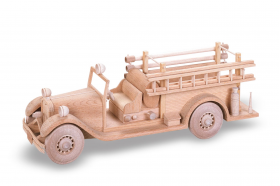 Woodworking Plans 1933 Seagrave Fire Truck | Bear Woods Supply