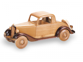 Woodworking Plans 1934 Chevrolet Coupe | Bear Woods Supply