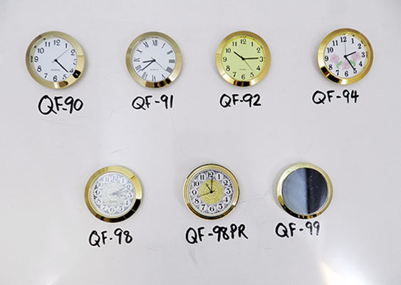 Clock inserts wholesale fit-ups | Bear Woods Supply