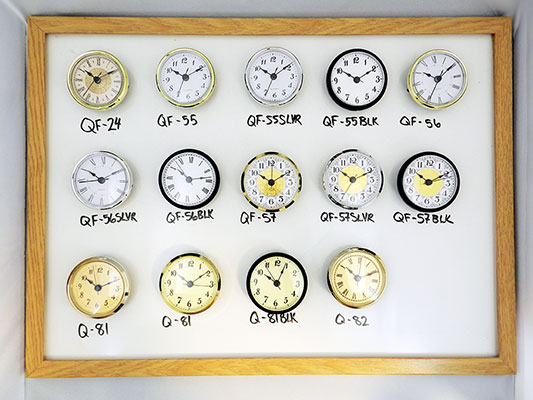 Clock Inserts and fit-ups wholesale | Bear Woods Supply