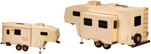 5th Wheel Travel Trailer Woodworking Pattern | Bear Woods Supply