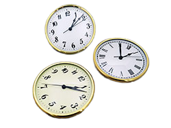 Clock Inserts 4 and 6 inches