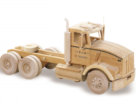 Woodworking Plans The KW Semi Tractor | Bear Woods Supply