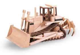 Woodworking Plans The Hi Track Bulldozer | Bear Woods Supply