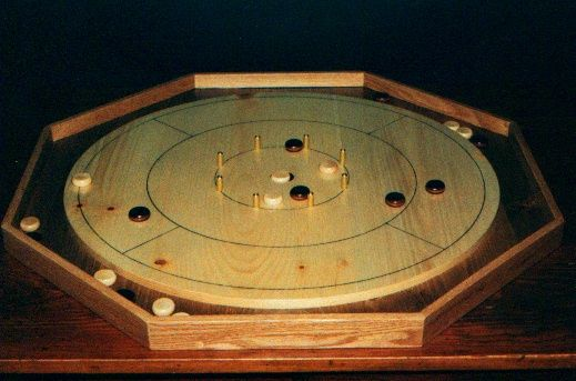 Crokinole Board Game Plan - Downloadable