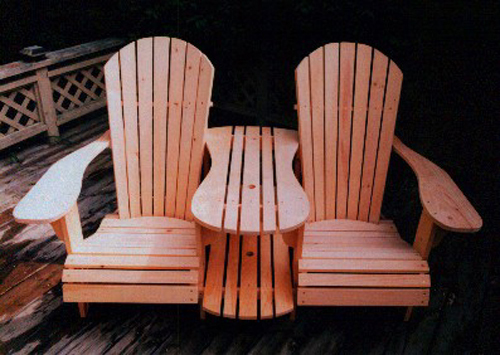 Standard Size Adirondack Chair Amp Settee Kit Plan