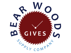 Bear Woods Gives Logo
