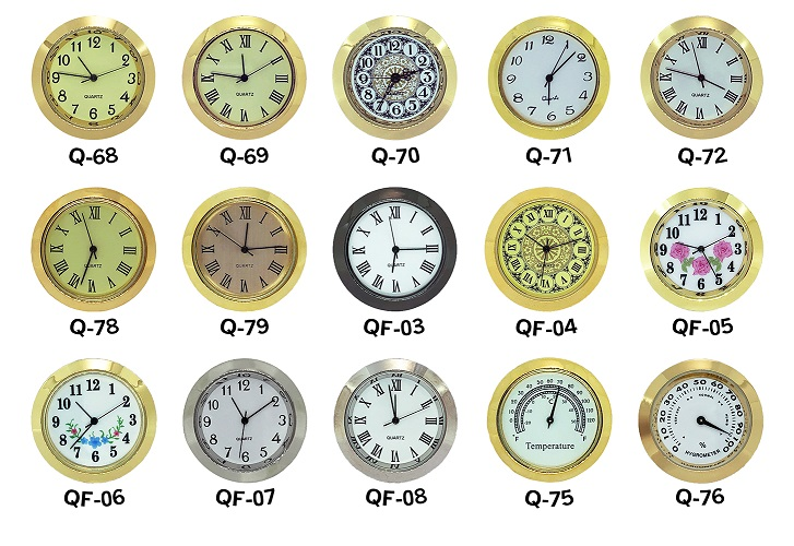 Clock inserts and fit-ups in 37mm | Bear Woods Supply