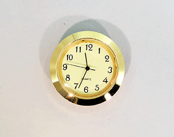 Mini Ivory Arabic Clock Insert | Bear Woods Supply
