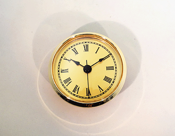 Gold Face Roman Clock Insert | Bear Woods Supply