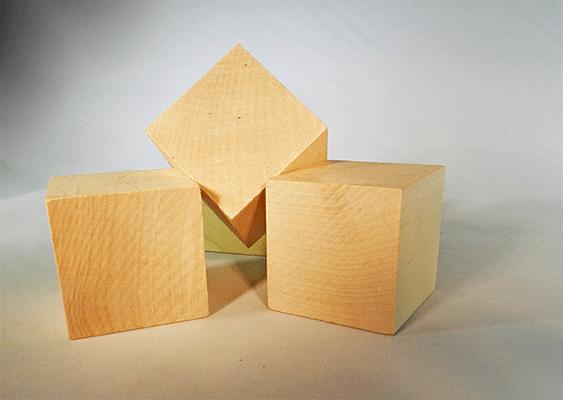Wooden Blocks 1 34 Inch Wood Cubes