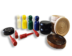 Game Parts (Checkers, Pawns, Cribbage Pegs etc.)