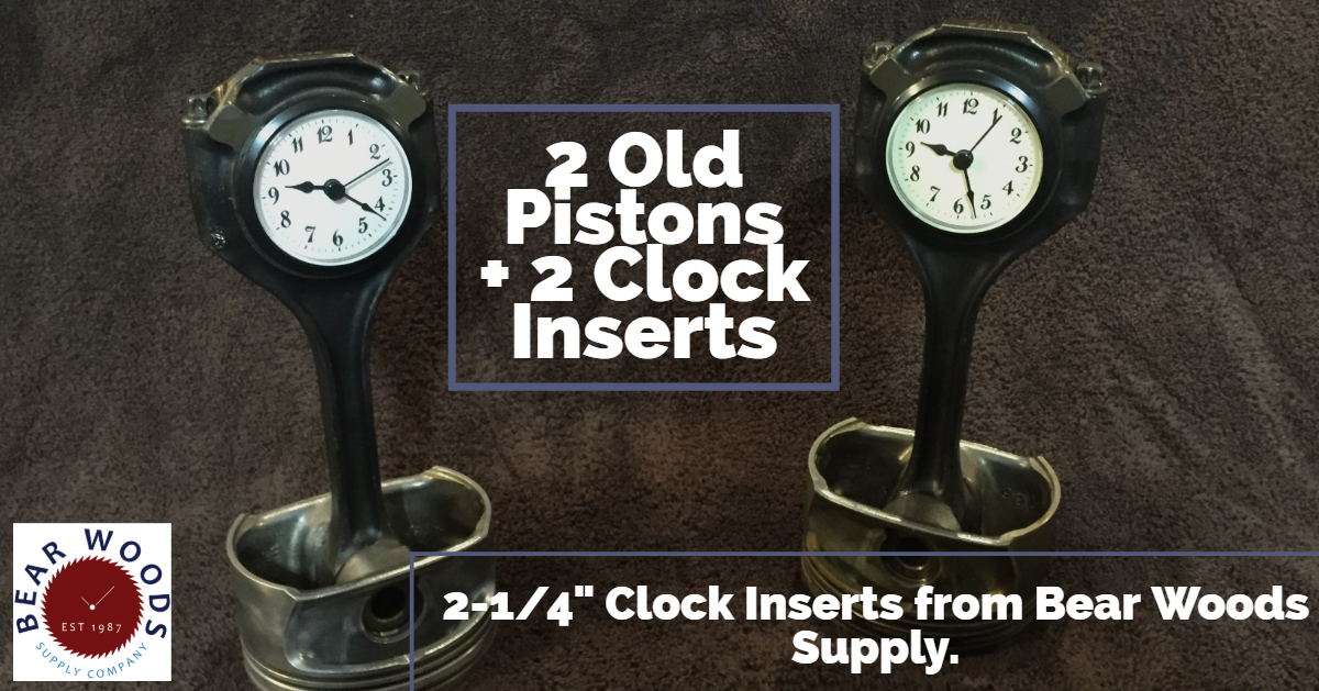 Clock inserts replacement parts