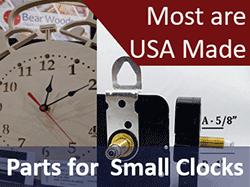 Quartz Clock Movements Shop In Canada For Clock Parts