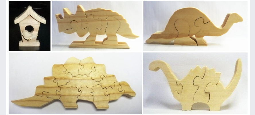Scroll Saw Blades used to make toys for needy kids.