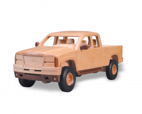 Woodworking Plan Extended Cab Pickup | Bear Woods Supply