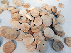 Maple Flathead Wood Plugs | Bear Woods Supply