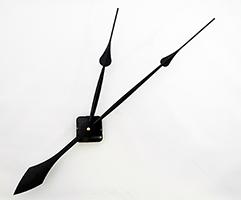 """Black Spade High-Torque Clock Hands 14""""   Bear Woods Supply"""