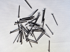 nails for sawtooth hangers, sawtooth picture hangers