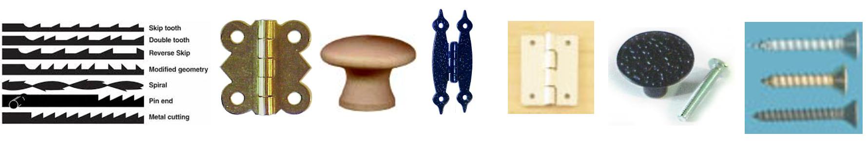 Hardware-knobs-saw-blades-hinges