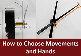 How to Choose Clock Replacement parts