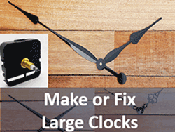 DIY Clock Parts to fix or make large clocks