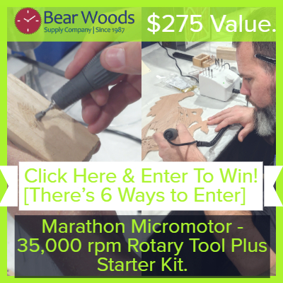 Micromotor Rotary Tool for Woodworking and Jewelers