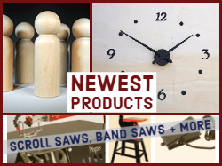 New clock parts and woodcraft supplies