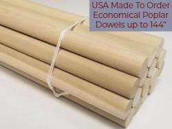 Poplar Dowel Rods Canada Sale