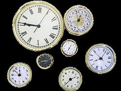 Clock Inserts - PREMIUM