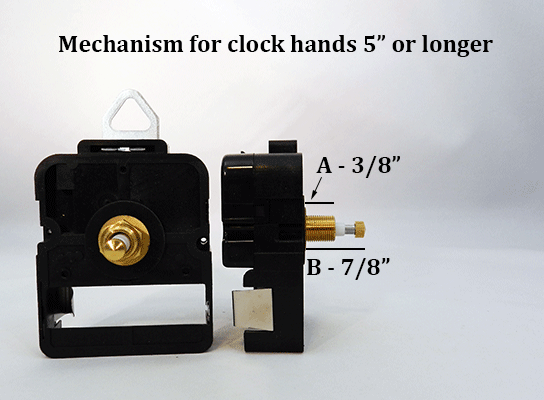 High-Torque Clock Movement | Bear Woods Supply