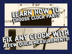 replacement clock parts how to