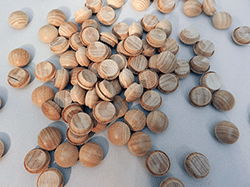 Maple Mushroom Button Wood Plugs | Bear Woods Supply