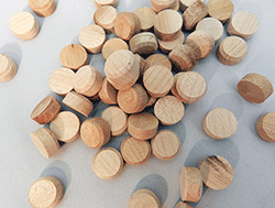 Maple Floor Wood Plugs | Bear Woods Supply
