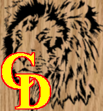 Lion Face Portrait - Scroll Saw Pattern by Charles Dearing
