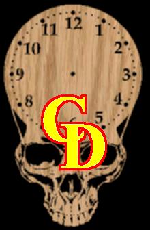 A skull clock project