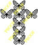 Fretwork butterfly scroll saw pattern by Charles Dearing