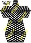 Checkerboard cross Scrollsaw Pattern by Charles Dearing - Bear Woods Supply