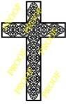 Beautifully Ornate Cross Scrollsaw Pattern - Bear Woods Supply