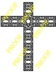 Stunning Bordered Fretwork Cross - by Charles Dearing