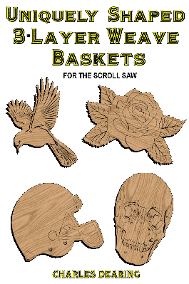 Three-Layer Weave Baskets Scrollsaw Patterns with Detailed Lids