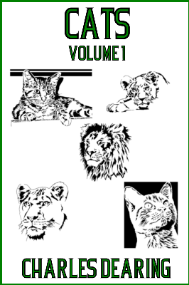 Cats E-Book Scrollsaw Pattern - Volume One designed by Charles Dearing