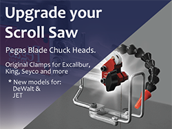 Pegas Scroll Saw Blade Clamp Replacements