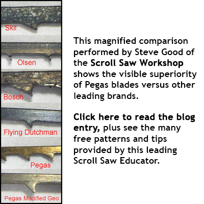 Compare Scroll Saw Blades for the best | Bear Woods Supply