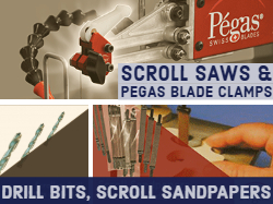 Scroll Saw Accessories Pegas | Bear Woods Drill Bits