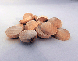Wooden Toy Hub Caps | Bear Woods Supply