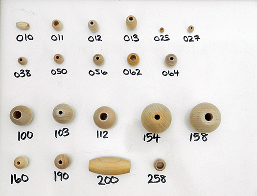 Shop for Round and Oval Wooden Beads | Bear Woods Supply Canada